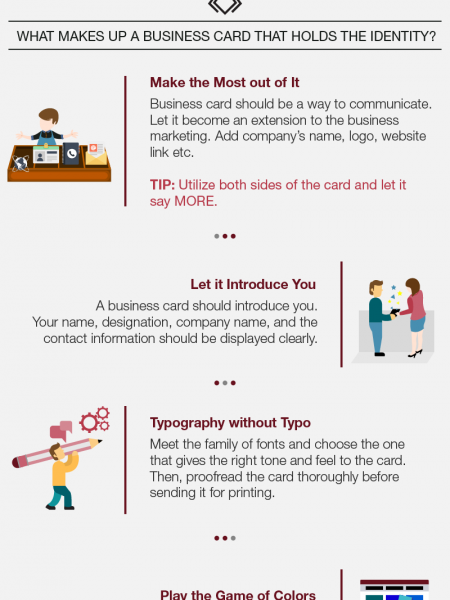 Useful Tips to Create Business Card Design Infographic