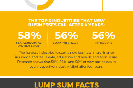 Using An Annuity Lump Sum To Start A New Business Infographic