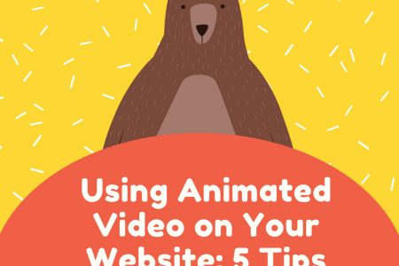 Using Animated Video on Your Website: 5 Tips Infographic
