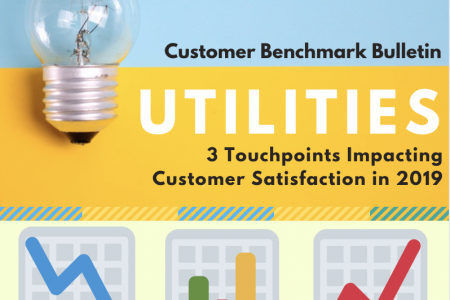 Utilities: 3 Touchpoints Impacting Customer Satisfaction Infographic