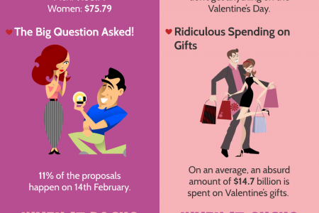 Valentine's Day- Rocks or Sucks Infographic