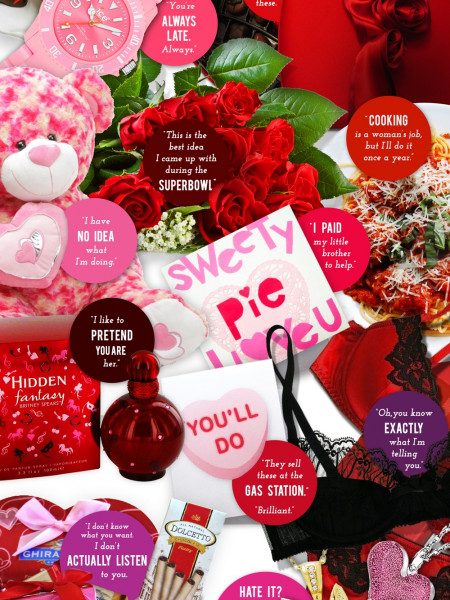 Valentine's Gifts - What He's Really Telling You Infographic
