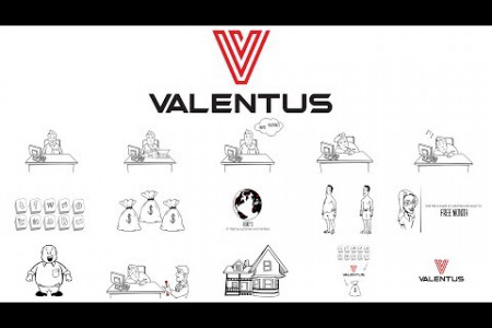 Whiteboard Animation Valentus Infographic