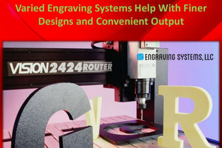 Varied Engraving Systems Help with Finer Designs and Convenient Output  Infographic