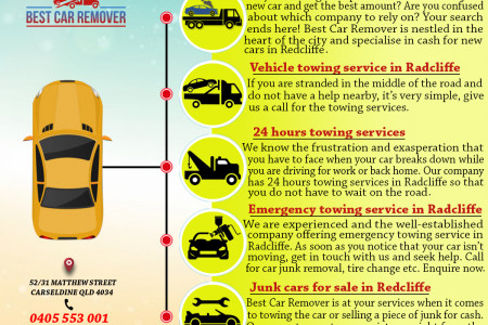 Vehicle towing service Infographic