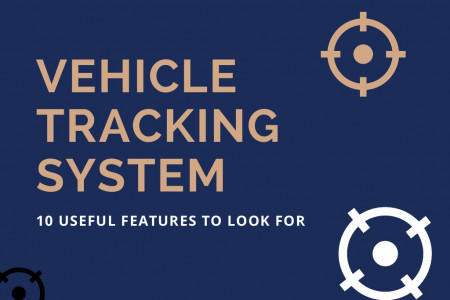 Vehicle Tracking System - 10 Useful Features to Look For Infographic