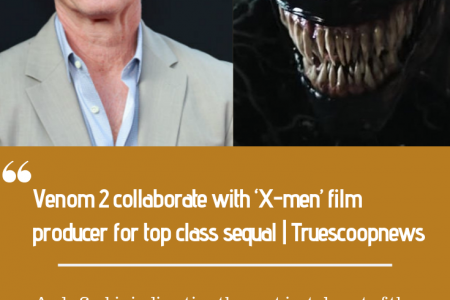 Venom 2 collaborate with 'X-men' film producer for top class sequal | Truescoopnews Infographic