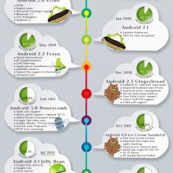 Version History Of Android OS | Visual ly