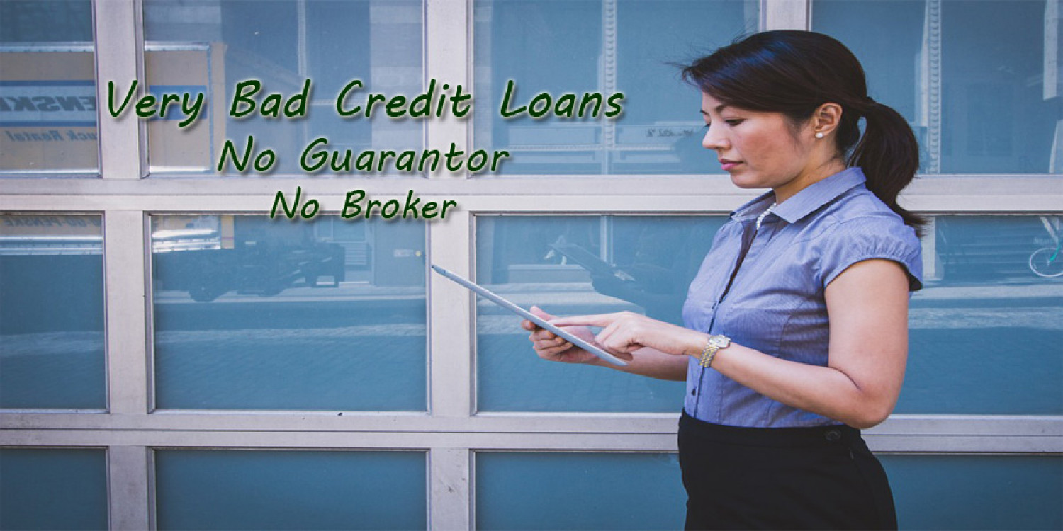 Very bad credit loans no guarantor no broker Infographic
