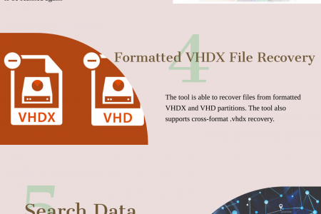 VHD Recovery Tool to Recover VHD and VHDX Files Infographic