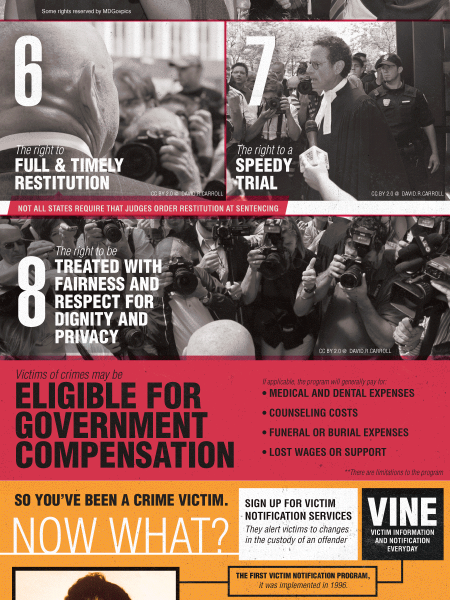 Victims Have Rights Infographic