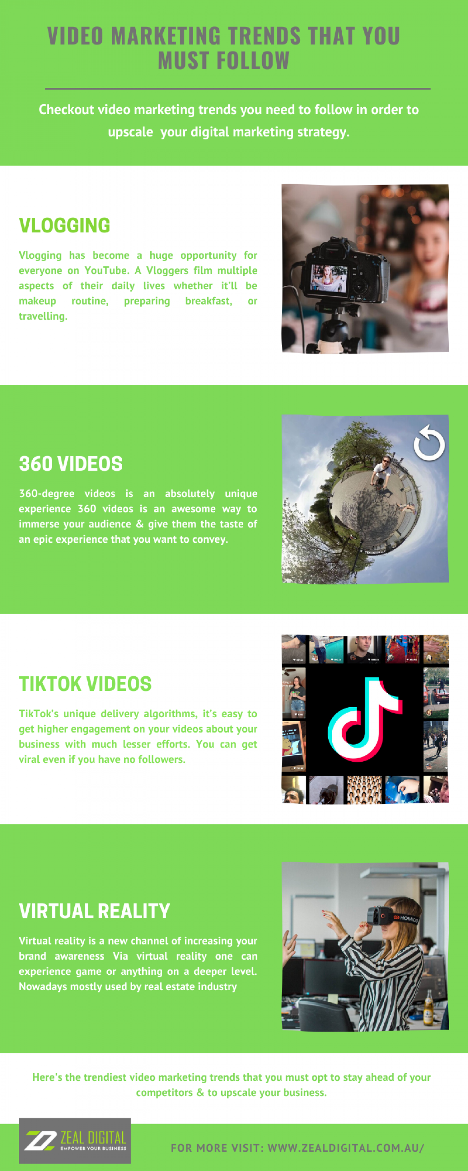 Video Marketing Trends That You Must Follow  Infographic
