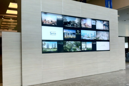 Video Wall & LCDs Implementation Services Infographic