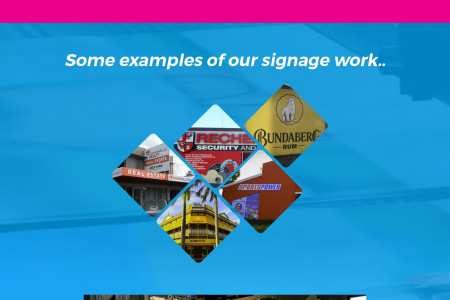 Vinyl Sign Printing and Vinyl Stickers Australia Infographic