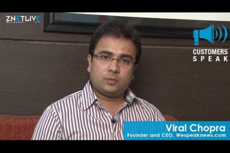 Viral Chopra, CEO, WeSpeakNews.com | ZNetLive Customer Reviews  Infographic