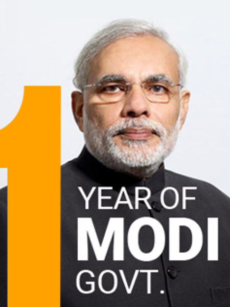 Viral Infographics Case Study : Year in Review, What Narendra Modi Accomplished Infographic