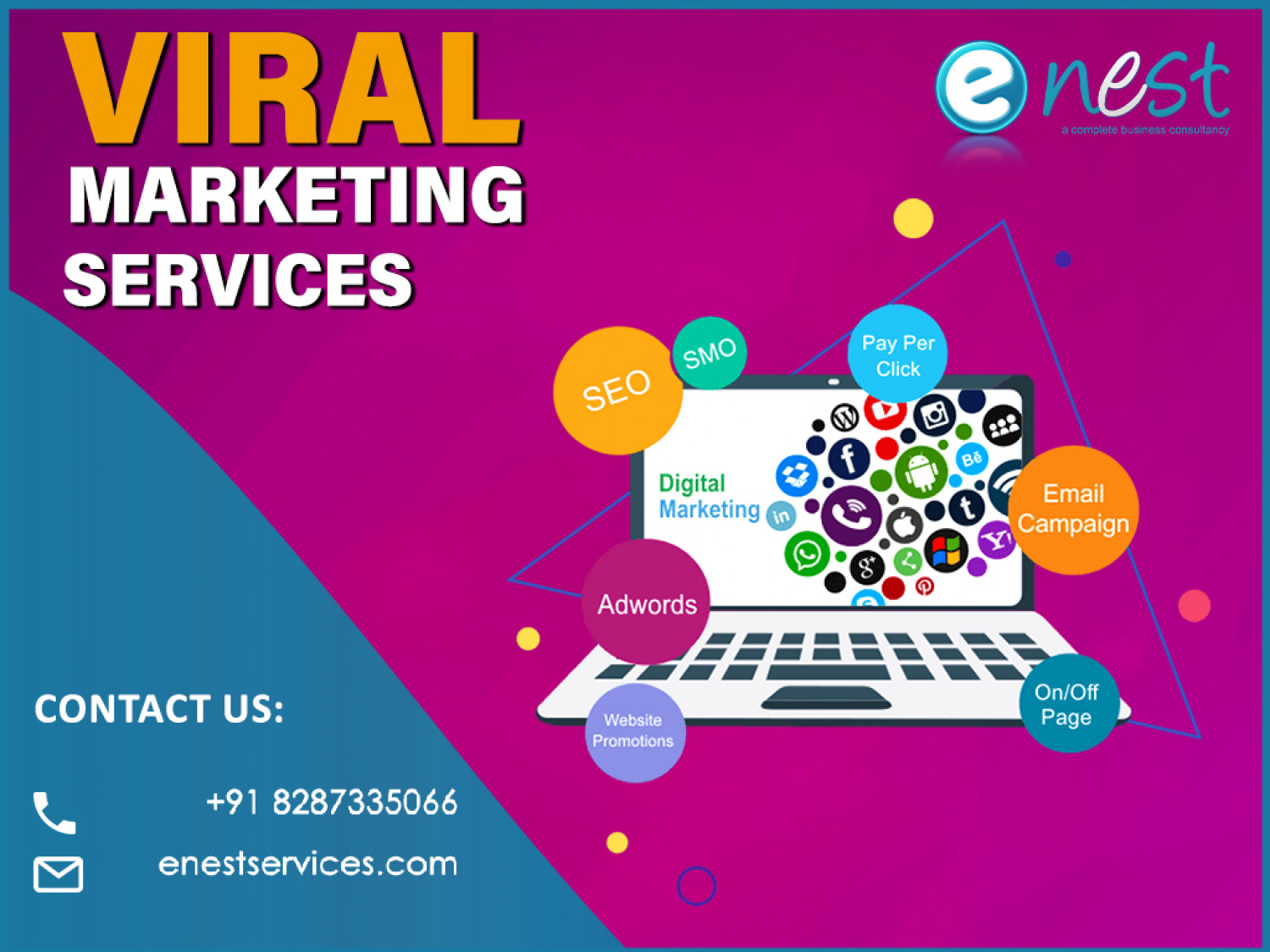 Viral Marketing Services Infographic