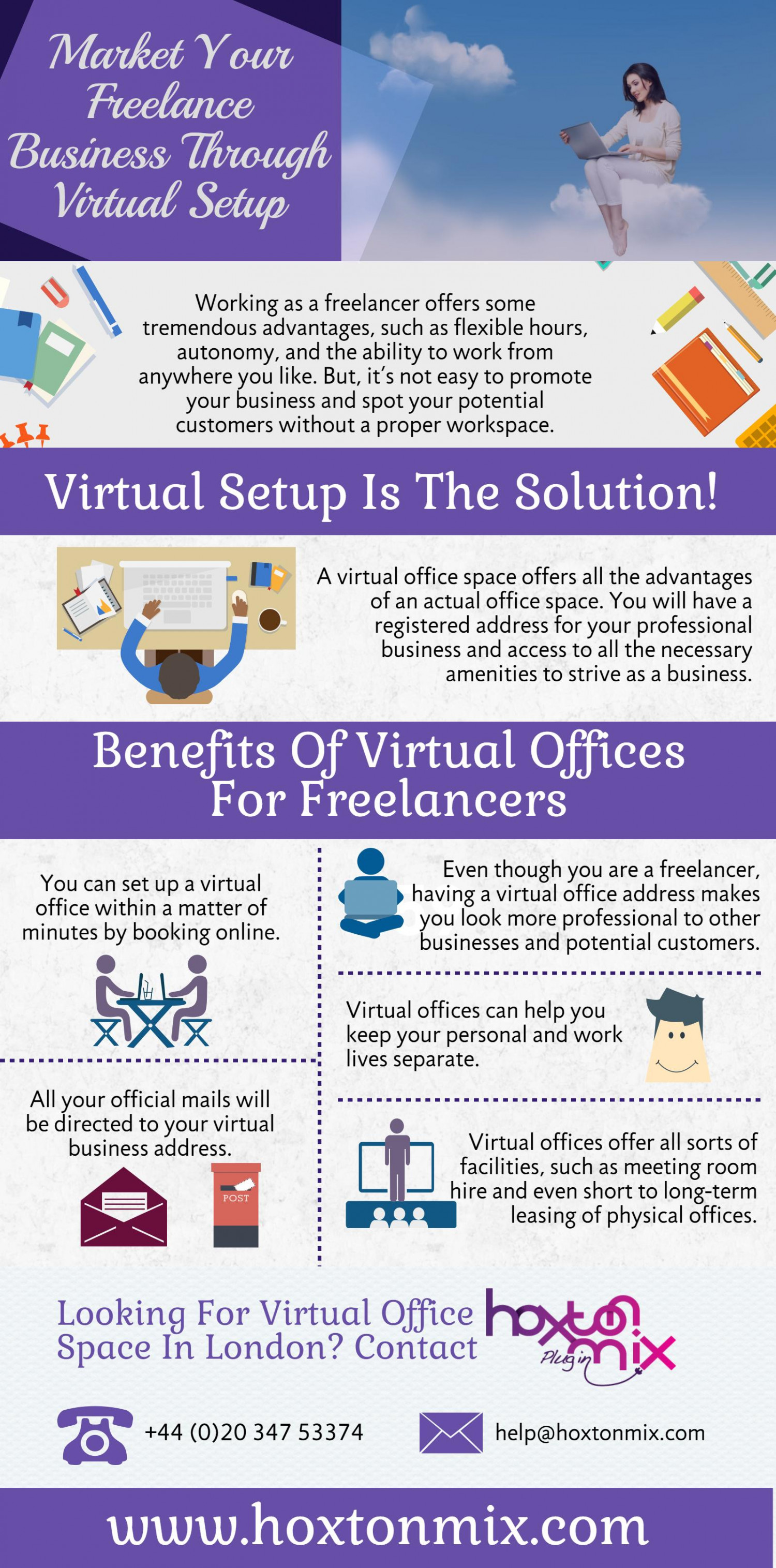 Virtual Assistant | Virtual Office Support - Hoxtonmix com | Visual ly