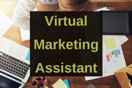 Virtual Marketing Assistant Infographic