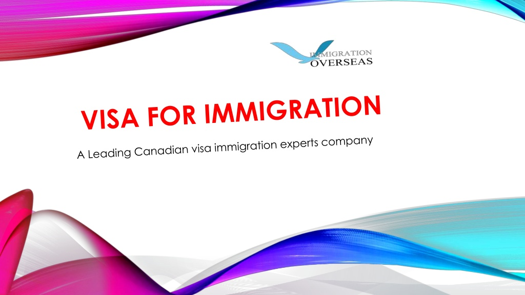 Visa Enquiry for Migration to Canada - Visa Experts   Visual.ly