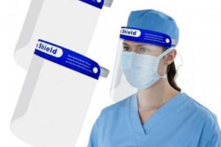 Visor CE Certified is Health and Safety of Medical Professionals Infographic
