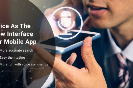Voice As The New Interface For Mobile App Infographic