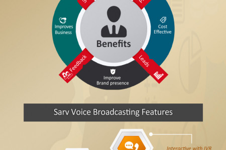Voice Broadcasting Service Infographic