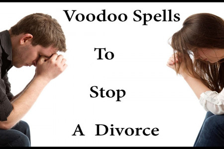 Voodoo Love Spell To Stop a Separation And Divorce Infographic