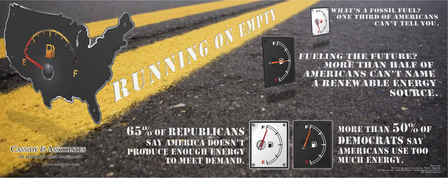 Voters Running on Empty INFOGRAPHIC Infographic
