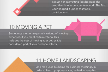 Wacky Tax Deductions Infographic