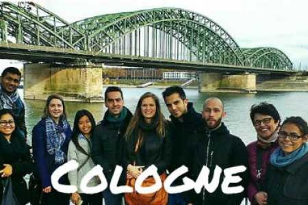 Walking Tour of Cologne  Infographic