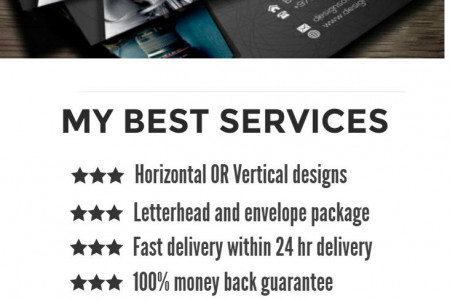 WANT A BUSINESS CARD DESIGNER ? Infographic