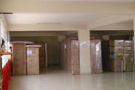 Warehouse for household goods storage, Bangalore Infographic