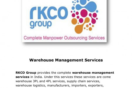 Warehouse Management Services & Supply Chain Services in Gurgaon India Infographic