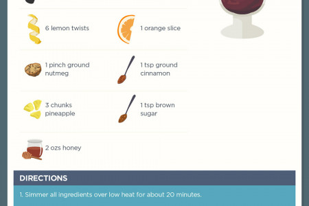 Warming Winter Cocktails to Get Toasty on Cold Nights Infographic