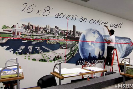 Watch #Buffalo Come to Life Through a 26-Foot Mural at @mainstreethost Infographic