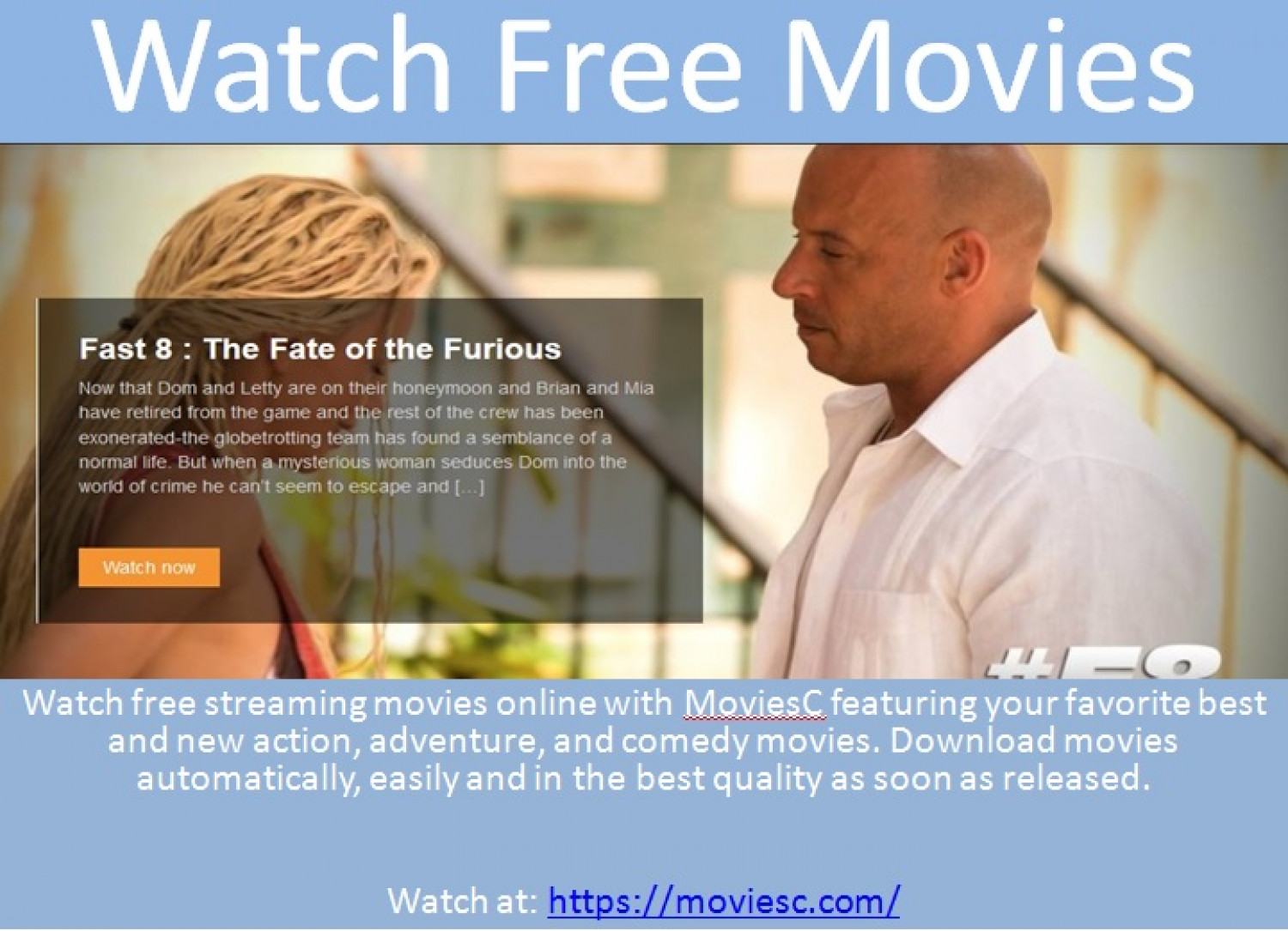 Watch Free Movies Infographic