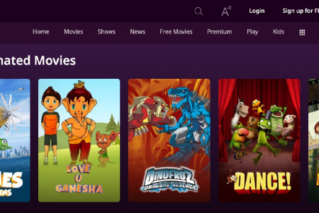 Watch Top Animated Movies | ZEE5 Infographic