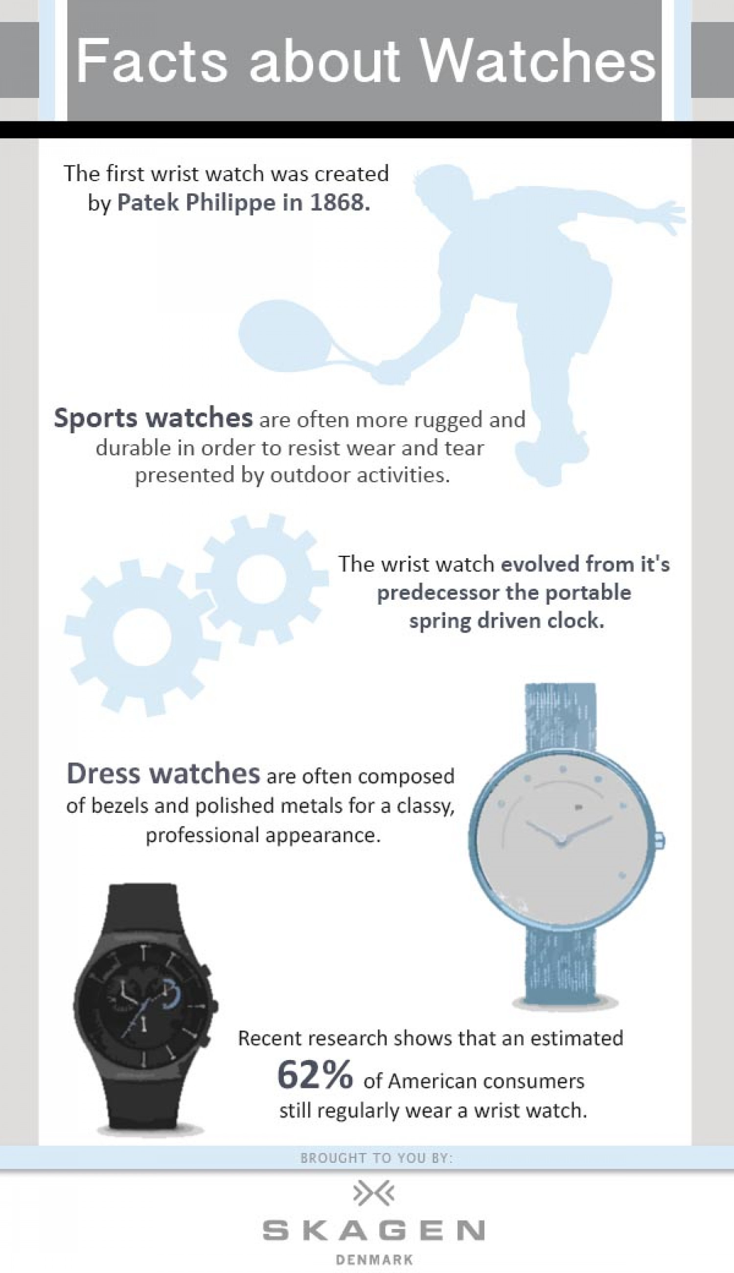 Facts About Watches Infographic