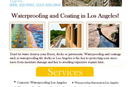 Waterproofing Company Los Angeles Infographic