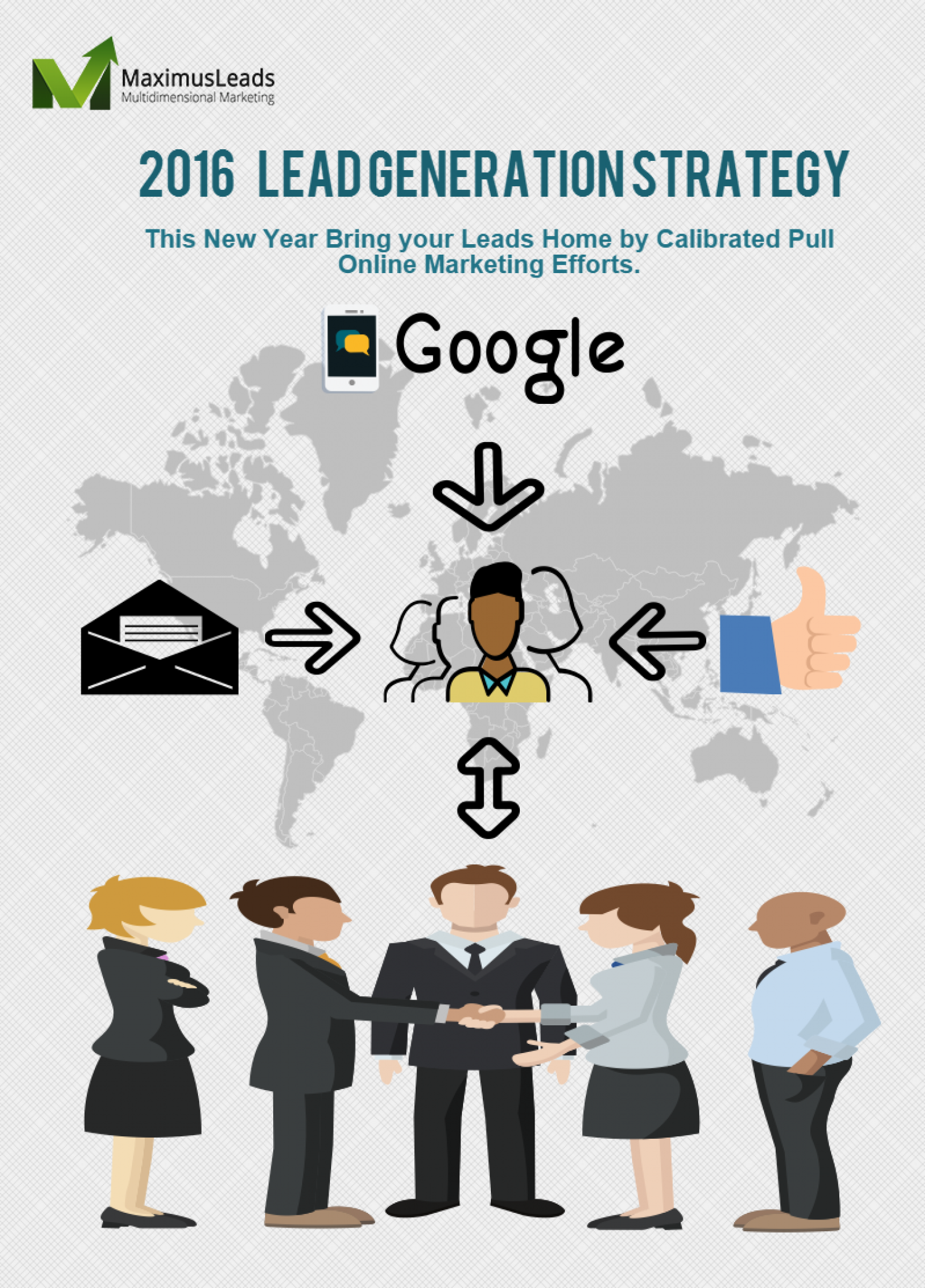 Way of the Future for Lead Generation - Maximus Leads Infographic