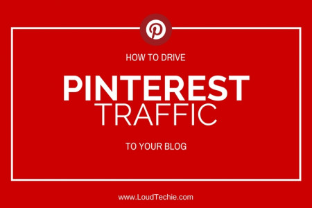Ways To Drive Enormous Traffic From Pinterest To Your Blog Infographic