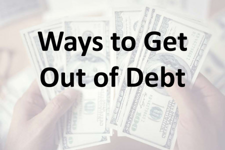 Ways to get out of debt Infographic