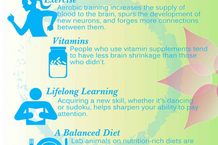 Ways To Keep Yourself Feeling Young Infographic