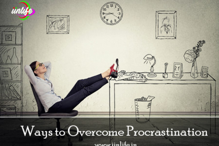 Ways to Overcome Procrastination Infographic