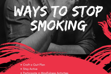 Ways to Stop Smoking Infographic