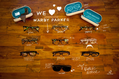 We <3 Warby Parker Infographic