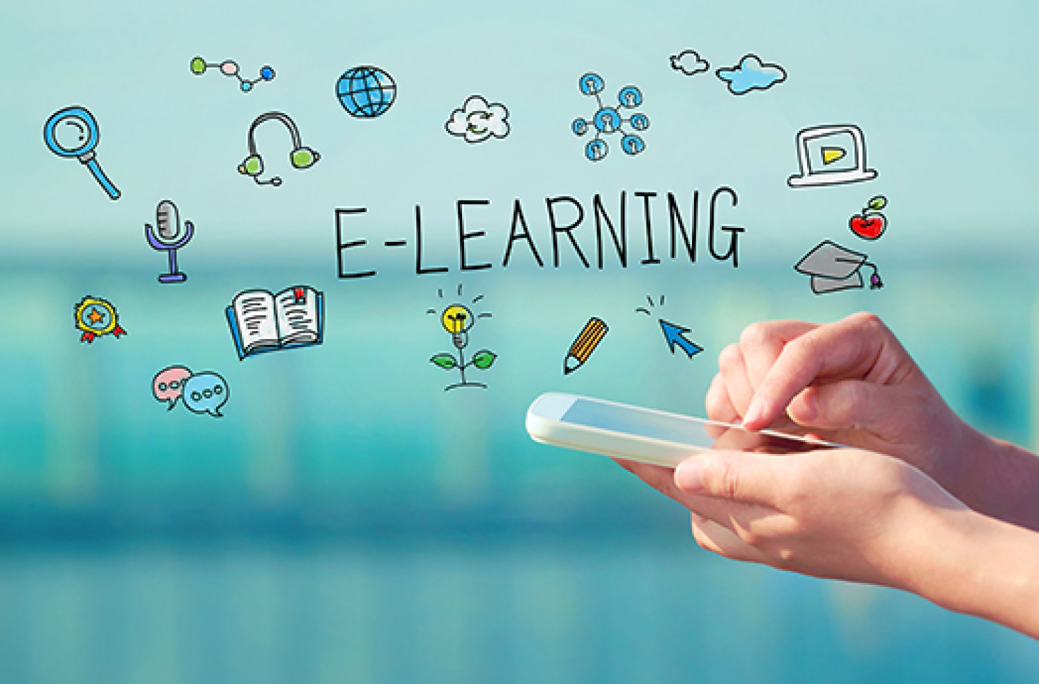 We Are Education And E-learning It Solutions Providing Company Infographic
