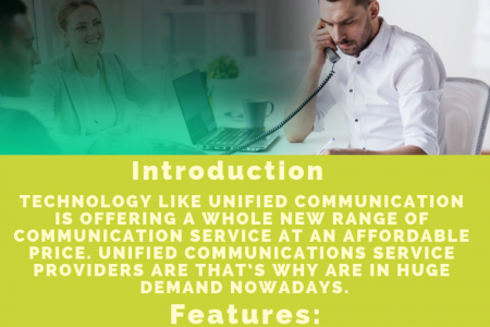 We are Unified Communications Service Providers  Infographic