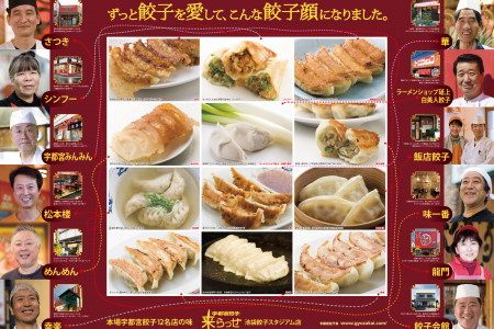 We have been loving 'GYOZA' & it made our faces as they are. -----Who Makes Which?----- Infographic